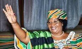 Former Malwai President Joyce Banda
