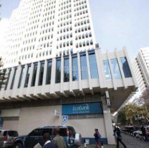 Ecobank Kenya headquarters on Standard Street Nairobi