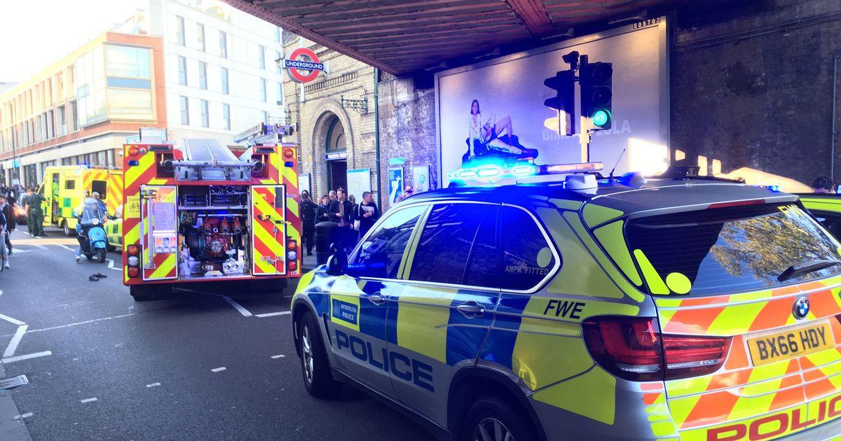 Terrorists attack London train station, again