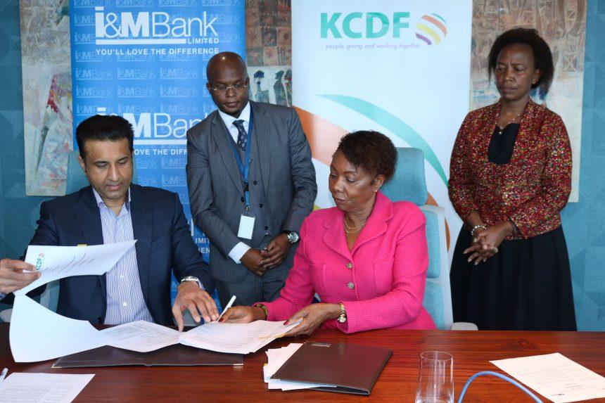 I&M Bank foundation partners with Kenya Community Development Foundation on building sustainable environments