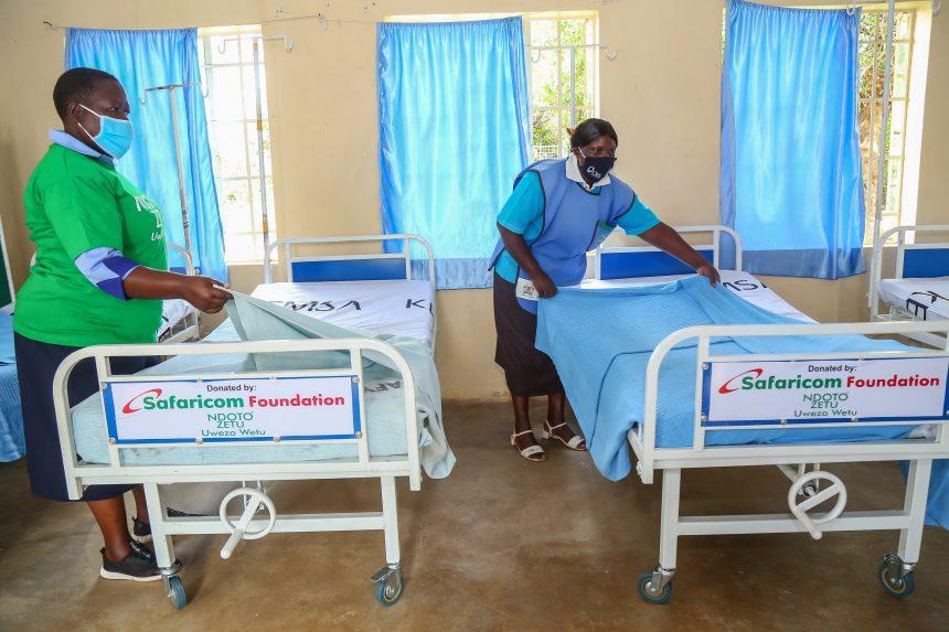 Health centres receive Ksh 5 million worth medical equipments from Safaricom foundation's Ndoto Zetu initiative