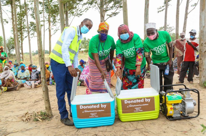 Safaricom's Ndoto Zetu programme funds six groups in Kwale and Kilifi counties